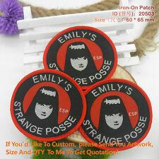 Emily's Strange Posse Patch Kawaii Fashion Goth Roc
