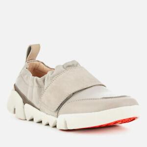 Cuero Gardenia pisos Tri 70 Gris 37 4 Zapatos £ D Tamaño Clarks Rrp Damas Yqt5Z