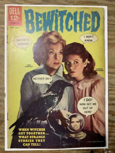Bewitched-3-Silver-Age-Dell-Giant-Comic-Book-VG