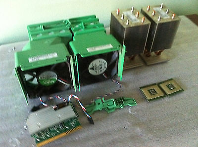 DELL Precision 470/670, SC1420  Matched Pair 3.6GHz XEON CPU,VRM, Heat Sink