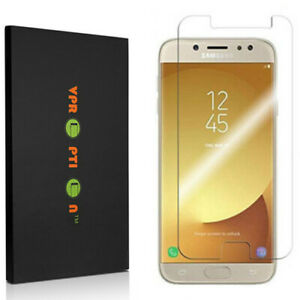 2X VPROPTION Tempered Glass Screen Protector Saver For Samsung Galaxy J7 PRO