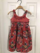 Blueberi Boulevard Girl Summer Pink Floral Dress w// Shrug Size 2T 3T 4T Sundress