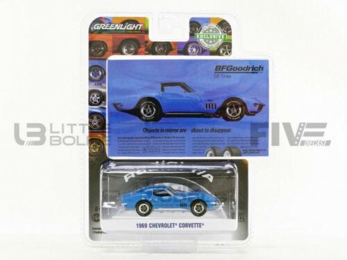 1969-30137 Greenlight collectibles 1//64 chevrolet corvette