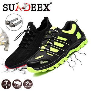 Sicherheitsschuhe Arbeitsschuhe Halbschuh Atmungsaktiv Sportliche Stiefel 35-48
