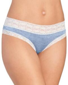 1-Pair-Jessica-Simpson-Bikini-Panties-Size-M-Blue-White-Sexy-Gift-Women-039-s-MP