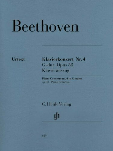 58 No Beethoven Concerto for Piano and Orchestra G Major Op 4 NEW 051480629