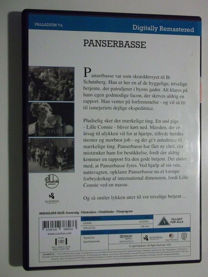 Panserbasse , instruktør Alice O'Fredericks, DVD