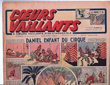 COEURS VAILLANTS 1942 n°26. Hergé. Tintin Le crabe aux Pinces d'Or.