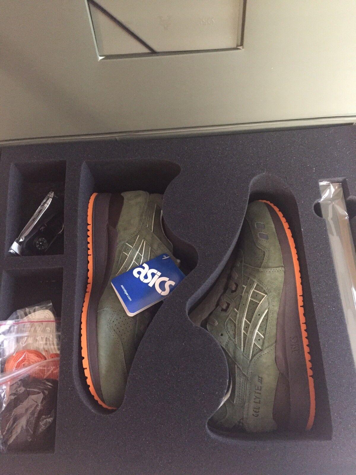 Ronnie Fieg Kith Asics Gel Lyte III Militia AIH6C3K 6968 Size 9