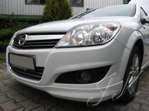 Fits Vauxhall Opel Astra Astravan MK5 H 5 Doors - Front Lip Spoiler