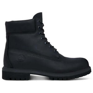 A1MA6-MEN-039-S-TIMBERLAND-6-INCH-PREMIUM-LEATHER-BOOTS-BLACK-NEW