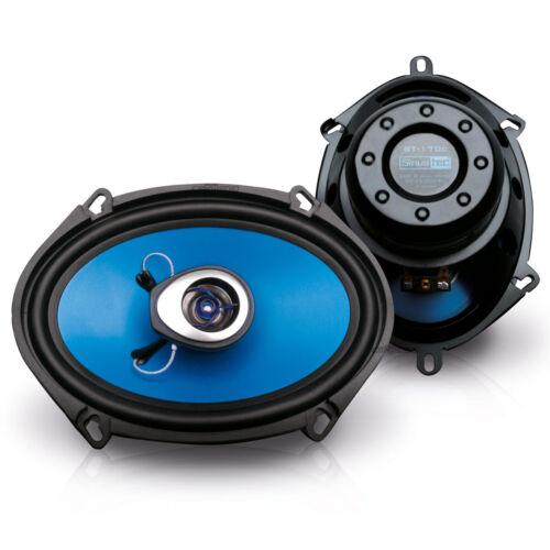 boxeo 5x7 coaxial front//Heck Mazda Tribute 00-08 sinustec altavoces