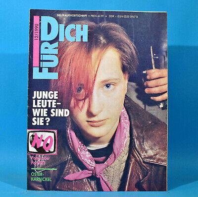 DDR FÜR DICH 12 1990 Miß Berlin Jugend Berlinale Hose Mode