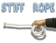 THICK WHITE COMEDY STIFF ROPE Magic Trick Kids Show Clown Rigid Funny Prop Joke