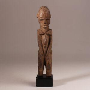 9666-Lobi-bateba-Phuwe-Altar-figur-Holzsockel-inclusive