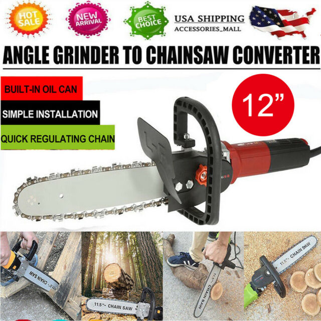 Corded Chainsaw 16 Inch 12-Amp Chain Saw Woodworking Garden Greenworks Fast Ship