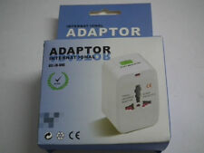 Universal International World Travel Adaptor Power Plug Adapter Surge Protector