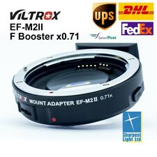 Viltrox EF-M2II mark II Electronic Adapter F Booster 0.71x for Canon to M43