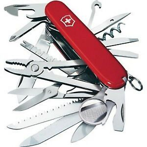 New Swiss Army 53501 Red Large Swiss Champ Victorinox