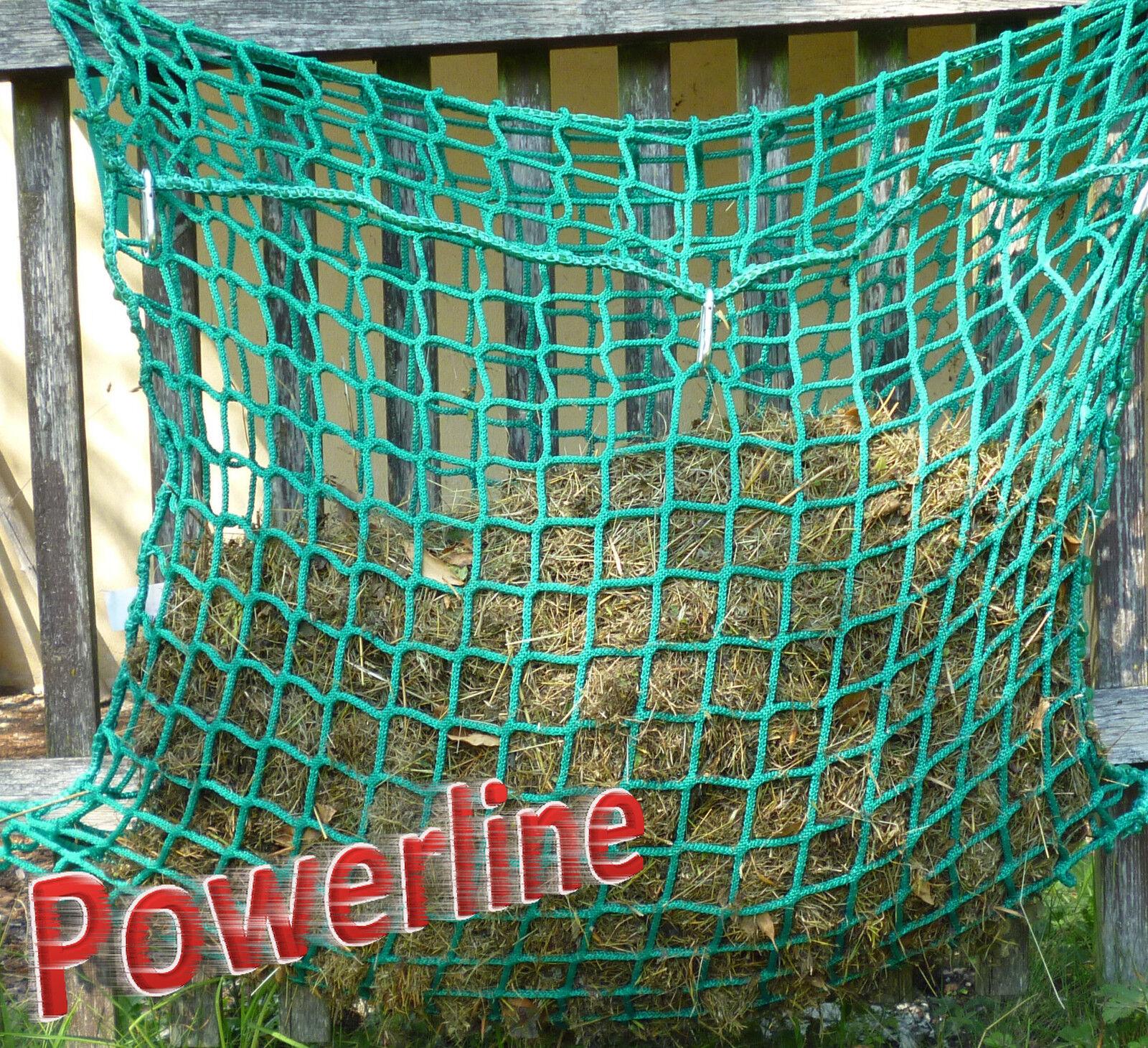Powerline Taschen Großraumheunetz 1,0m breit, MW 3,5cm, zum Befüllen, Heunetz