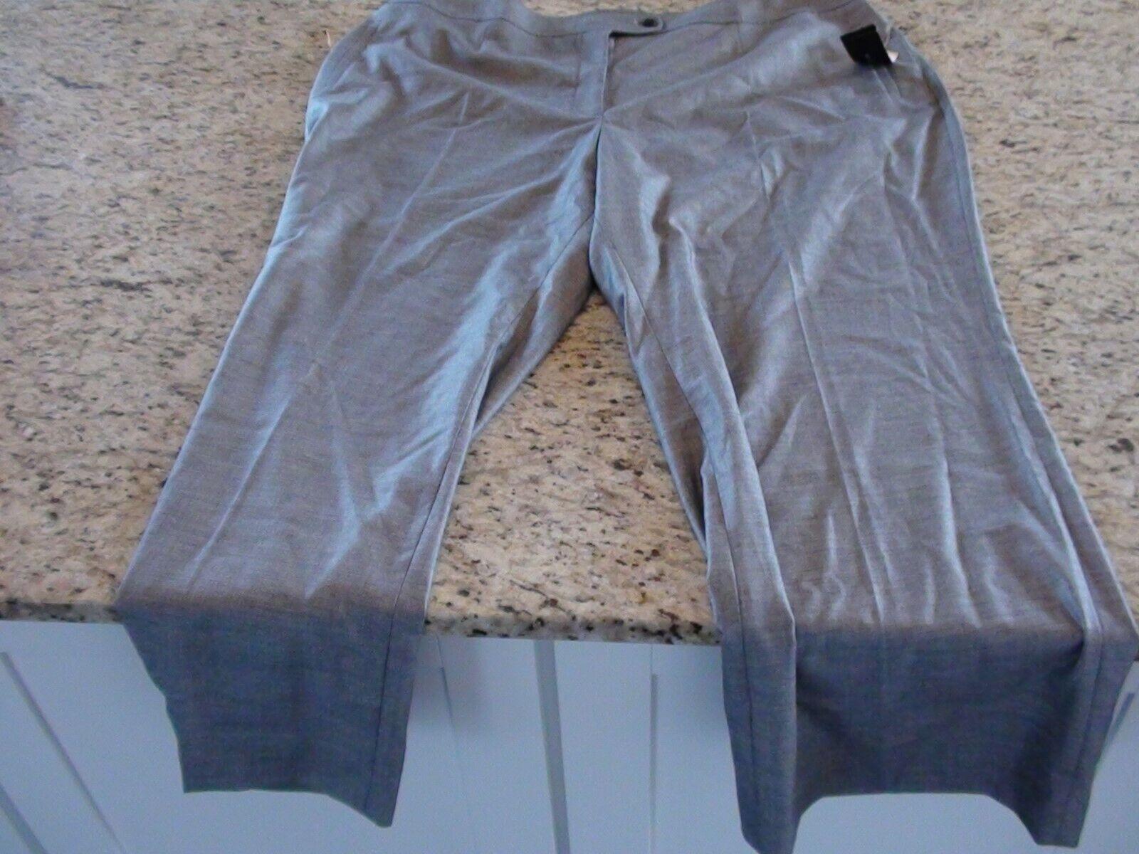 NEW Jones New York Collection Woman Plus Size Modern Fit Dress pants Size 24W