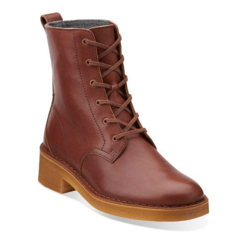 Women's Clarks Clarks Clarks Original Boot Warm Lined Maru Mali Tan Leather 26111523 b9ac5f