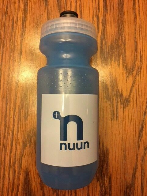 Nuun 21oz Blue Specialized Wide Mouth Durable Bike Water Bottles BPA Free