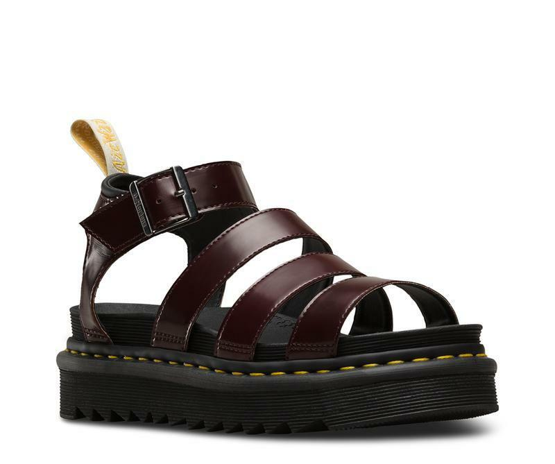 Dr Martens utan skosnören sandal Blaire Cherry vegetarian vegetarian vegetarian 23807600 original  ärlig service