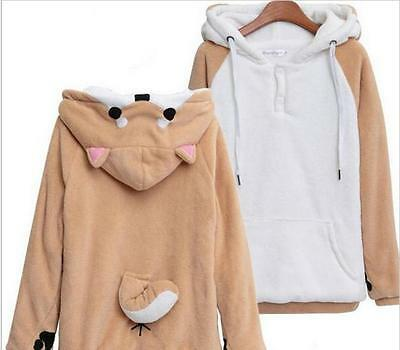 Latest Muco! Itoshi no Muco Doge Cartoon costume Dog Hoodie Sweater Coat Cosplay