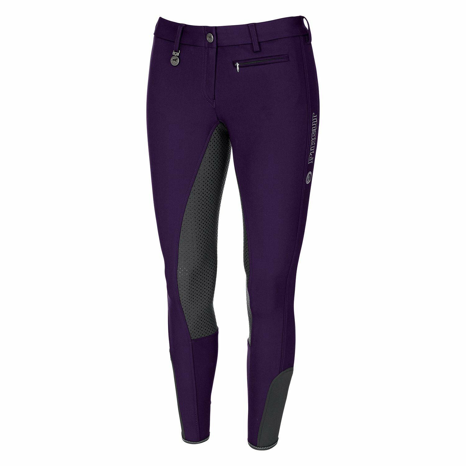 Pikeur Lucinda Grip Full Seat Breeches in Grape  Shadow  factory direct