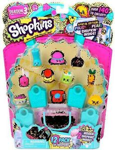 Image Is Loading Shopkins Season 3 Special Edition 12 PACK Limited