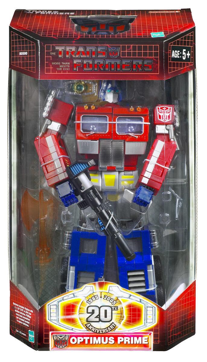 Hasbro Transformers Classics  20th Anniversary Battle Damaged Optimus Prime...