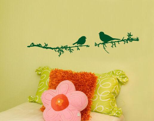 Mural chambre enfant salon chambre oiseaux wal091 oiseau wal091 oiseaux couloir sticker 16b89e