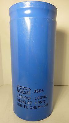 Capacitor CDM 381LX 15000UF 63V Electrolytic Temp 105C 35x50 QTY:2