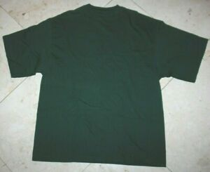 NWT-Men-039-s-CHAMPS-Sports-SS-Crewneck-Cotton-T-Shirt-Green-XL-see-measurements