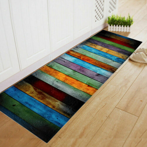 Rechteckig-Lang Küche Fußbodens Teppich Halle Badezimmer Läufer Rutschfest