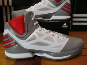 ceed7e279f1e RARE DS Adidas AdiZero Rose 2.5 Grey Red White G48836 9 8 Chicago ...
