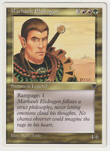 Details about Marhault Elsdragon (EX/NM) Chronicles 1x Legend Rampage EDH  WOTC MTG Magic Card!