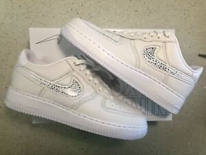 Details about Nike Air Force 1 Low CR7 By You - Size 12 US Men WHITE SILVER DN2501-991 In Hand