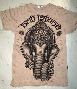 043f410cd79574 New Yoga Men T Shirt Buddha Ganesha Lotus India OM Peace Hobo Boho L ...