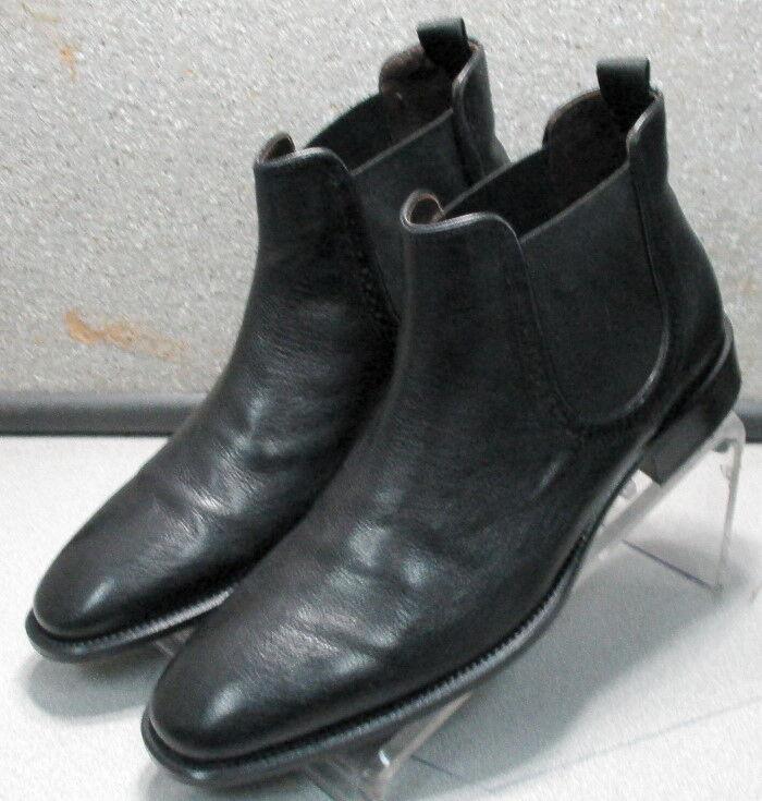 271805 pfbt 40 para hombres zapatos talla 9 M Negro Cuero Slip On Johnston & Murphy