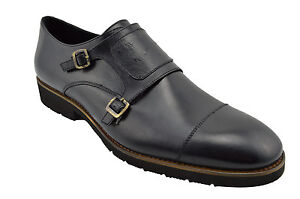 230-masqlen-cuir-Noir-Moine-sangle-robe-hommes-chaussures-nouvelle-collection