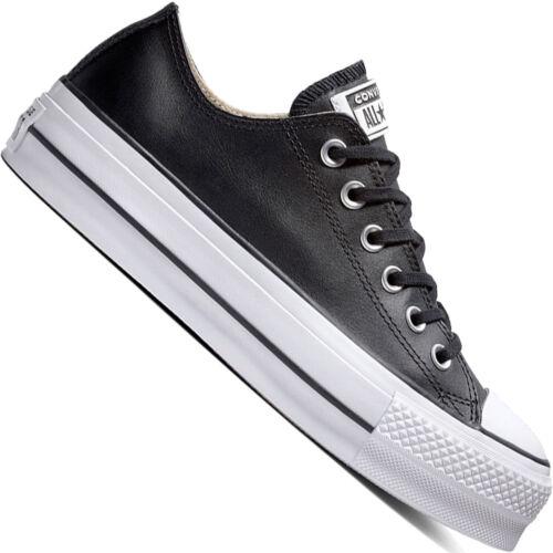 Damen Lift Star Neu sneaker All Clean Converse Taylor Chuck Turnschuhe Leather qF4I0I