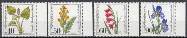 Berlin 1981 Mi. Nr. 650-653 Postfrisch mit Rand (24324)