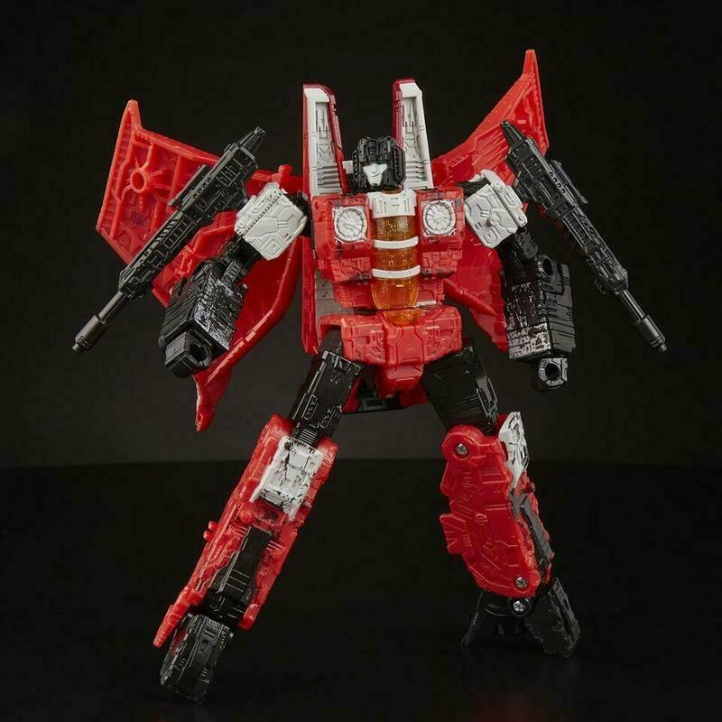 [giocattoli  Hero] In He Transformers Exclusive Generations Selects WFC-GS02 rosso Wing  contatore genuino