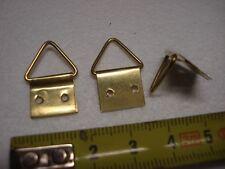 10 attaches anneau triangle 16 par 24 mm (réf E) crochet de cadre