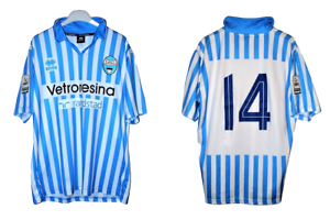 SPAL-maglia-e-pantaloncini-Lega-Pro-2014-2015-match-issued-shirt-and-shorts-14
