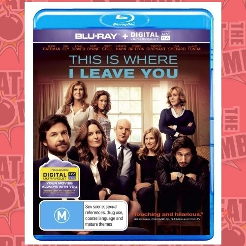 1 of 1 - This Is Where I Leave You (Blu-Ray/UV)  - BLU-RAY - NEW Region B
