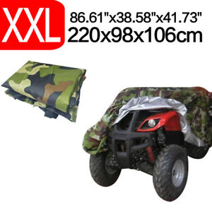 Xxl Camo Waterproof Atv Storage Cover Universal For Honda Polaris Yamaha Suzuki Ebay