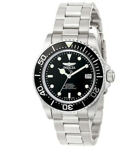 Invicta-Men-039-s-Watch-Pro-Diver-Automatic-Silver-Tone-Steel-Bracelet-8926C